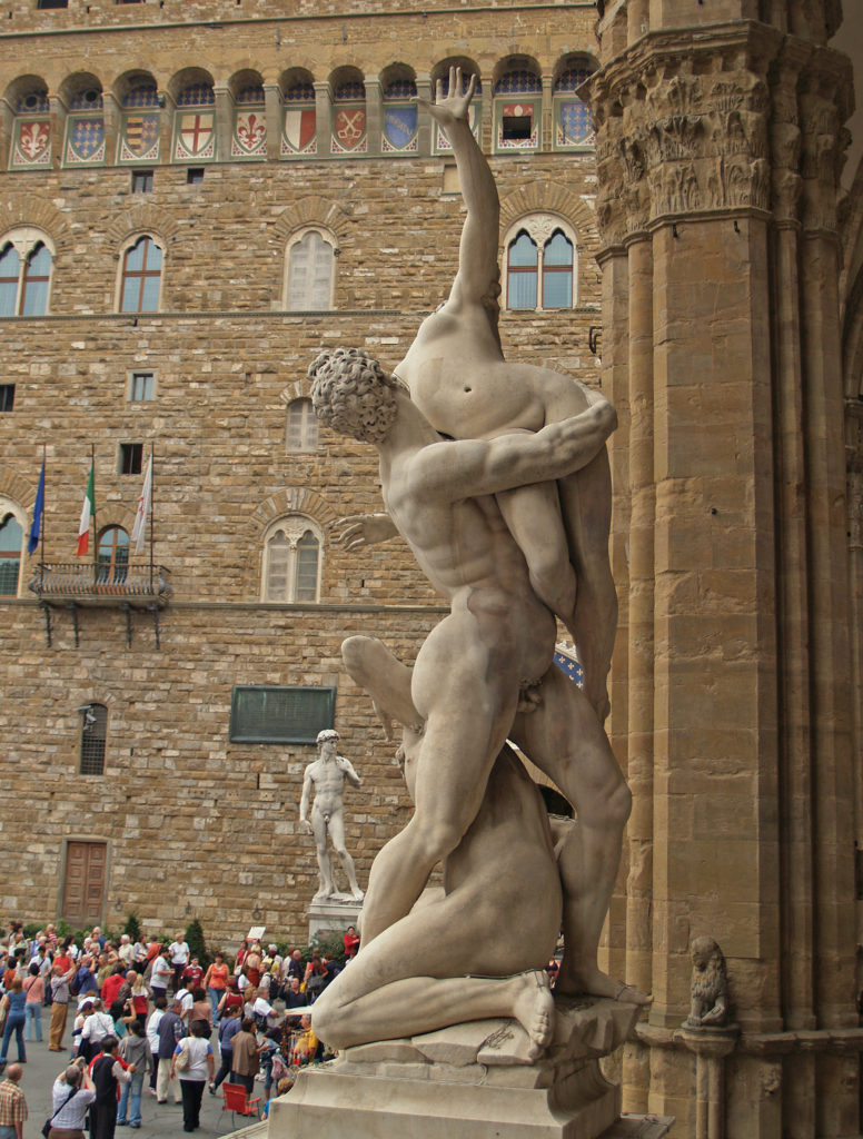 Arnold Paul, Florence Rape of the Sabine Women 3, CC BY-SA 3.0.